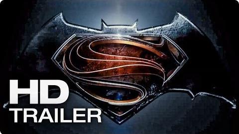 BATMAN VS SUPERMAN Dawn Of Justice Trailer Teaser (2015)