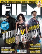 Batman v Superman Dawn of Justice Total Film Cover