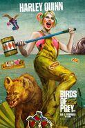 Birds of Prey deutsches Charakterposter Harley Quinn