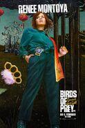 Birds of Prey deutsches Charakterposter Renee Montoya