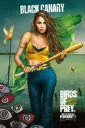 Birds of Prey Charakterposter Black Canary