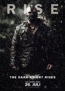 The Dark Knight Rises Charakterposter Bane