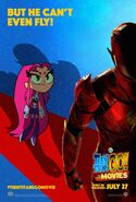 Teen Titans GO To The Movies character poster StarFire
