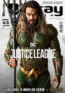 Blu Ray Magazine Justice League Aquaman cover