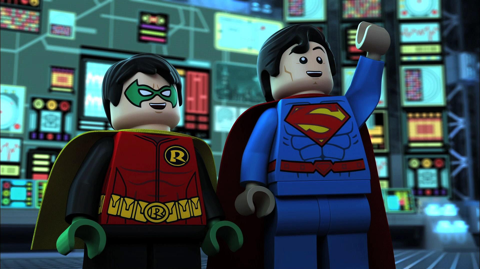Exclusive LEGO DC Comics Superheroes Justice League Gotham City Breakout Announce Trailer