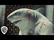 The Suicide Squad - King Shark Nom Nom Music Video - Warner Bros
