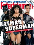 Entertainment Weekly Batman Vs Superman-cover
