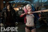 Killer Croc and Harley Quinn