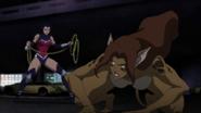 Cheetah vs Wonder Woman JLvsTT 1