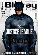 Blu Ray Magazine Justice League Batman cover