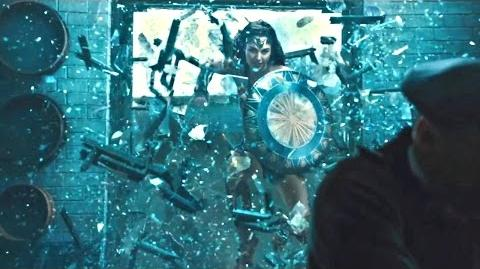 """NEW Wonder Woman Movie Clip """"Stay Here"""" 2017 Porfirios guarding this channel"""