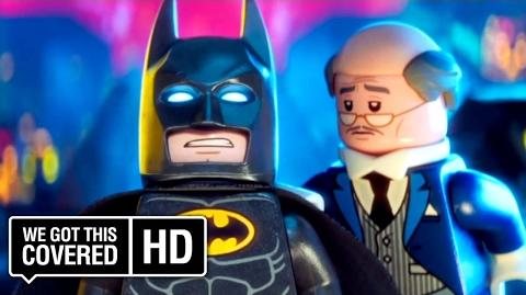 "The LEGO Batman Movie ""Raising Robin"" Clip HD Rosario Dawson, Ralph Fiennes, Will Arnett"