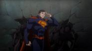 Justice-League-Throne-of-Atlantis-Superman-Saluting