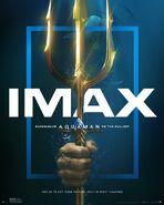 Aquaman Trident IMAX Poster