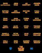 The Suicide Squad cast list