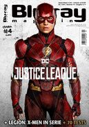 Blu Ray Magazine Justice League The Flash cover