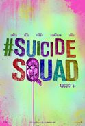 Suicide Squad Hashtag Poster