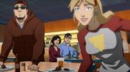 Justice League Throne of Atlantis - 10 Diane, Clark n Lois