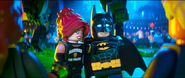 LEGO Barbara Gordon and Batman
