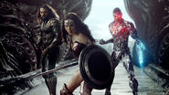 Aquaman, Wonder Woman and Cyborg