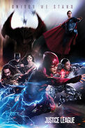 Justice League promo poster