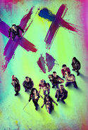 Textless Suicide Squad Poster