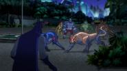 Batman up against the Animalitia BUAI