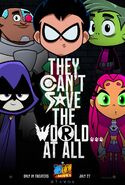 Teen Titans Go! To The Movies teaser poster 3