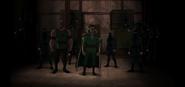 League of Assassins Batman vs. Teenage Mutant Ninja Turtles