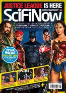 SciFiNow Justice League cover