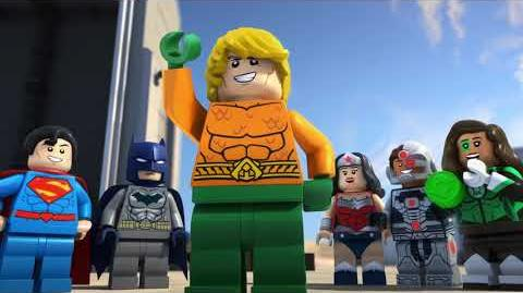 LEGO DC Comics Super Heroes Aquaman - Rage of Atlantis - Trailer