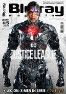 Blu Ray Magazine Justice League Cyborg cover