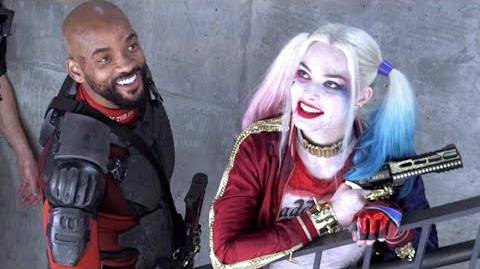SUICIDE SQUAD B-roll Footage - Behind The Scenes (2016) DC Superhero Movie HD