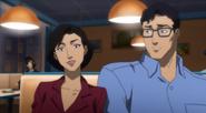 Justice League Throne of Atlantis - 6 Lois Lane n Clark Kent