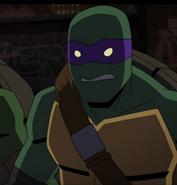 Donatello Batman vs. Teenage Mutant Ninja Turtles