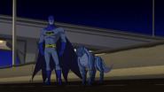 BU Batman and Blade Wolf