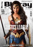 Blu Ray Magazine Justice League Wonder Woman cover