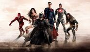 Justice-league-banner-with-superman