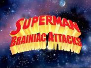 Superman Brainiac Attacks Logo