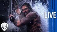 Aquaman Making an Underwater World Behind The Scenes Livestream Warner Bros