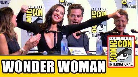 WONDER WOMAN Comic Con 2016 Panel Highlights - Gal Gadot, Chris Pine, Connie Nielsen, Patty Jenkins