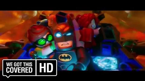 "The LEGO Batman Movie ""Team"" TV Spot HD Zach Galifianakis, Will Arnett"