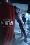 JL Mortal Superman poster