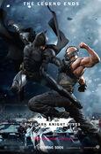 Batman vs. Bane poster