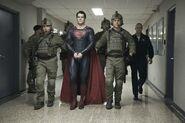 Superman in military custody