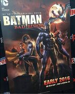 Batman Bad Blood Poster