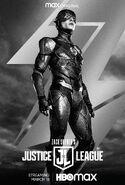 Flash - JL Snider Cut Poster