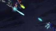 Starfire Cyborg Blue Beetle JLvsTT 4