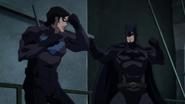 Nightwing vs Batman BMBB