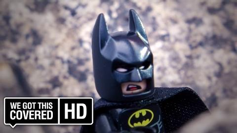 "The LEGO Batman Movie ""Batman In London"" Clip HD Rosario Dawson, Zach Galifianakis, Will Arnett"